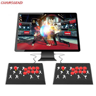 CHAMSGEND Wired Game Gamepad For Fighting Games