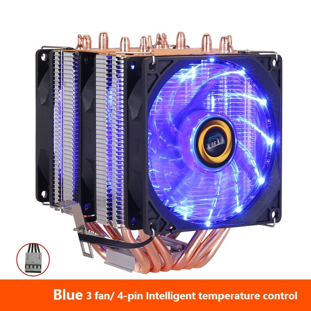 CPU Cooler High Quality RGB Fan For Intel & AMD - Shop For Gamers
