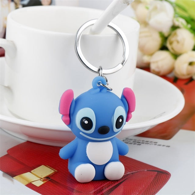 Lilo & Stitch Figures Keychain - Shop For Gamers