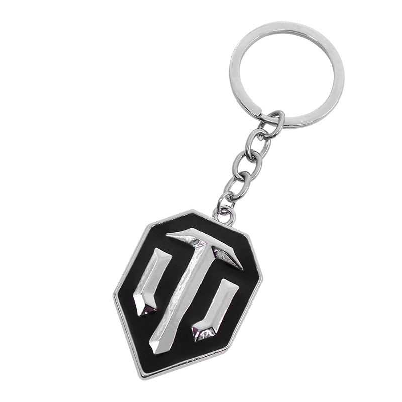 World Of Tanks WOT Alloy Keychain - Shop For Gamers