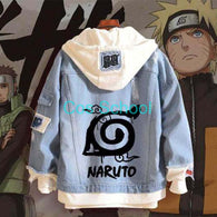 Anime Naruto Denim Jacket - Shop For Gamers