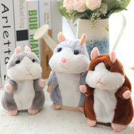 Little Talking Hamster Plush Toy - Shop For Gamers