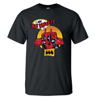 Deadpool T Shirt Men I Am The Night