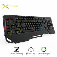 Delux K9600 RGB Backlight Gaming Keyboard - Shop For Gamers