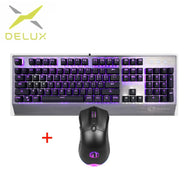 Delux KM02 Mini Keyboard  & Mouse Combo