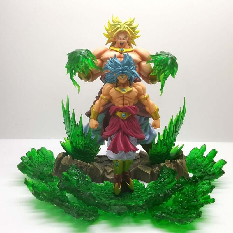Dragon Ball Z Broly Super Saiyan Evolution PVC Action Figure - Shop For Gamers