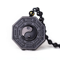 Obsidian Bagua Necklace - Shop For Gamers