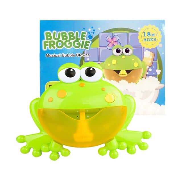 Bubble Frog & Crabs Baby Bath Toy - Shop For Gamers