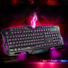 ALLOYSEED 104 Keys Membrane Mechanical Keyboard - Shop For Gamers