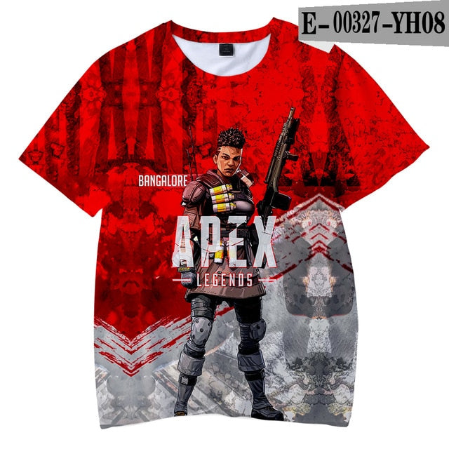 APEX LEGENDS Print Casual T-Shirts - Shop For Gamers