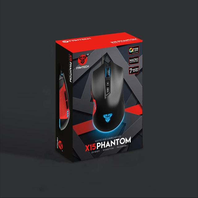 FANTECH X15 Wired Gaming Mouse - Shop For Gamers