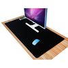 FFFAS Large All Black Mouse Pad