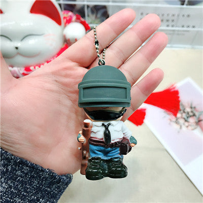 PUBG Keychain Level 3 Helmet Key Chain - Shop For Gamers