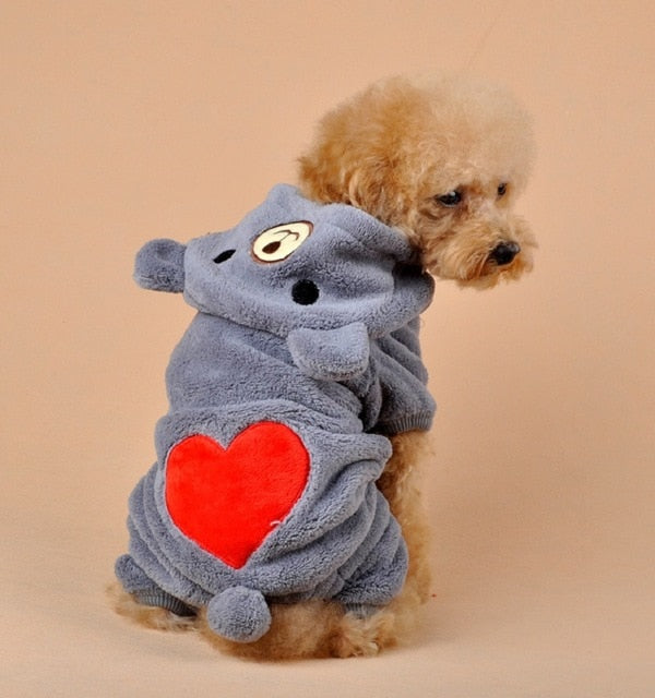 Bear Heart Dog Clothes - Shop For Gamers