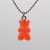 Multicolor Resin Bear Necklace - Shop For Gamers