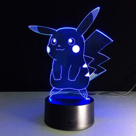 Pikachu Action Figure Remote Controlled 3D Hologram - Shop For Gamers