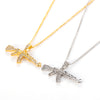 Gun Shape Crystal Rhinestone Pendant Necklace - Shop For Gamers