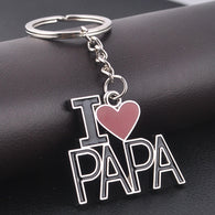Love PAPA Father's Day Gifts Keychain - Shop For Gamers