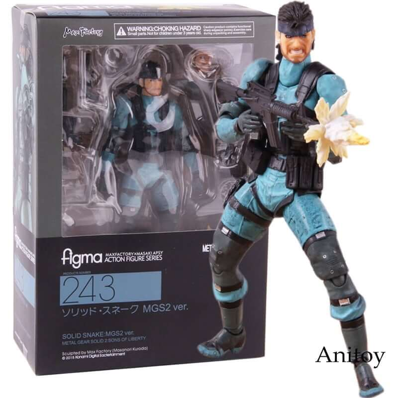 Metal Gear Solid 2: Sons of Liberty Action Figure - Shop For Gamers