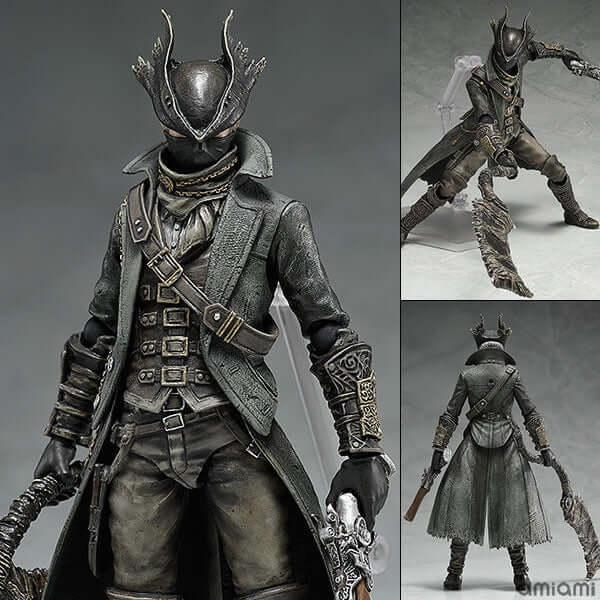 Bloodborne Hunter PVC Action Figure - Shop For Gamers