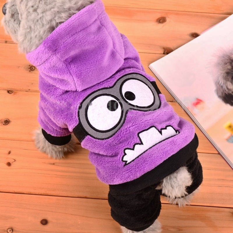 Fleece Winter Dog Clothes - Shop For Gamers