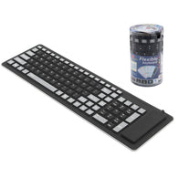 Foldable Flexible Keyboard Waterproof USB Wired - Shop For Gamers