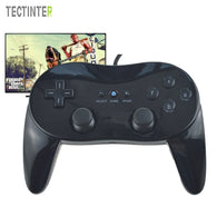 For Wii Mini Classic Pro Black Controller  - Shop For Gamers
