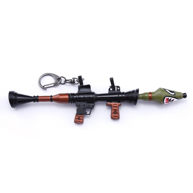 Fortnite Battle Royale Weapon M4 Model Keychain - Shop For Gamers