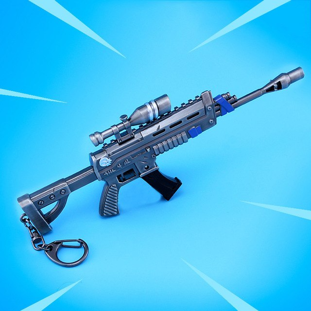 Fortnite Battle Royale Keychain Gun Model Alloy Weapon - Shop For Gamers