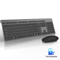 R3-B Wireless Rechargeable Keyboard Mouse Set - Shop For Gamers