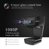 YNMIWEI Full HD 1080P Webcam - Shop For Gamers