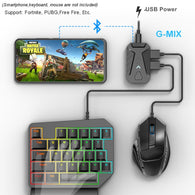 G-Mix Keyboard Mouse Converter For Mobile Gaming - Shop For Gamers