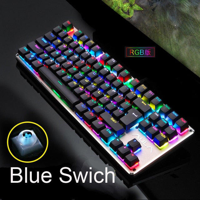 DARSHION GK104 104 Keys Mechanical Keyboard - Shop For Gamers