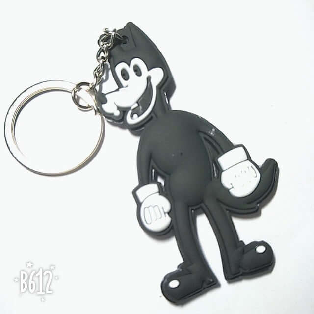 Bendy And The Ink Machine Pvc Keychain - Shop For Gamers