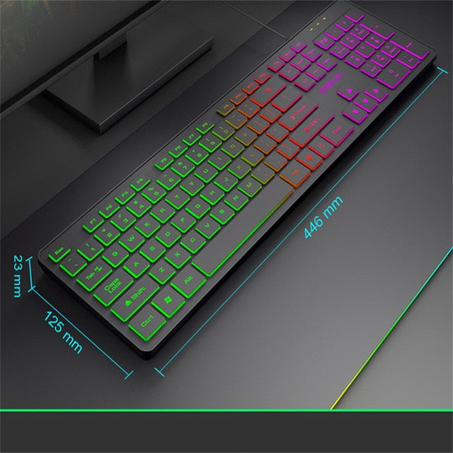 BEHATRD 0708 104 Keys Mechanical Gaming Keyboard - Shop For Gamers