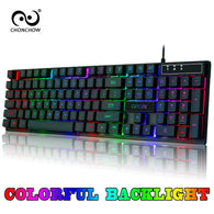 Chonchow Gaming Keyboard Rainbow Backlit