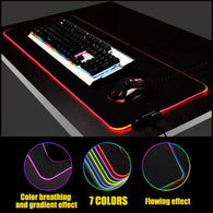 RGB Seven Colors Mouse Pad - Shop For Gamers