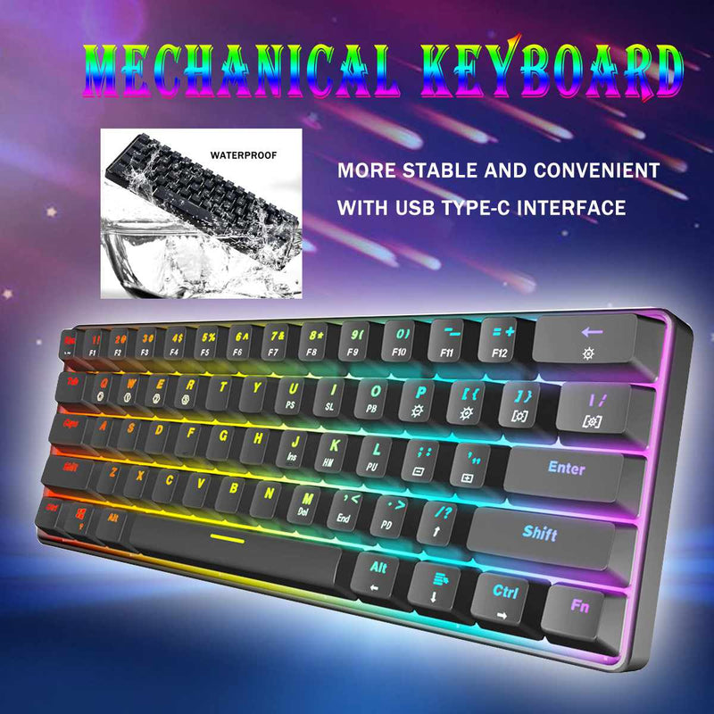 Gateron Switch RGB Game Mechanical Keyboard - Shop For Gamers