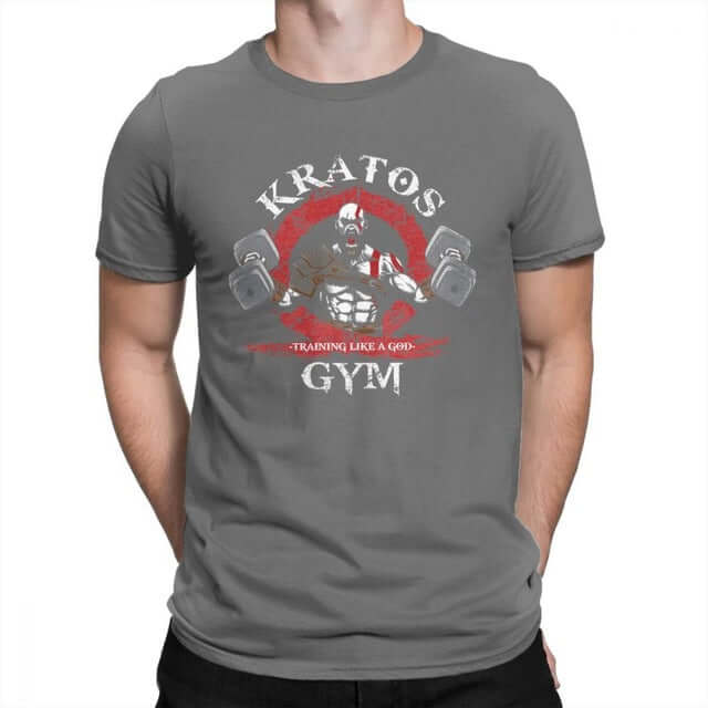 God Of War Kratos Gym Man T-Shirt - Shop For Gamers