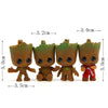 Guardians Galaxy Cute Baby Groot Key Chains - Shop For Gamers