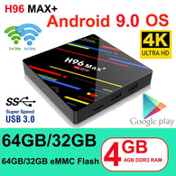 H96 MAX Plus Smart TV Box Android 9.0 TV Box - Shop For Gamers