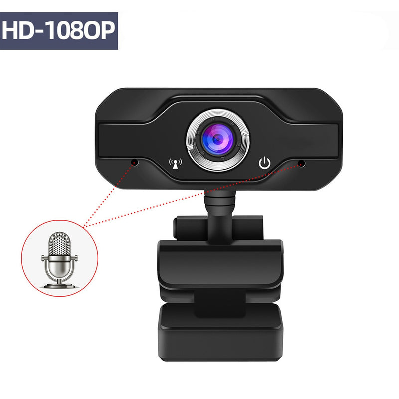 HD Webcam Built-in Dual Mics 1080P - Shop For Gamers