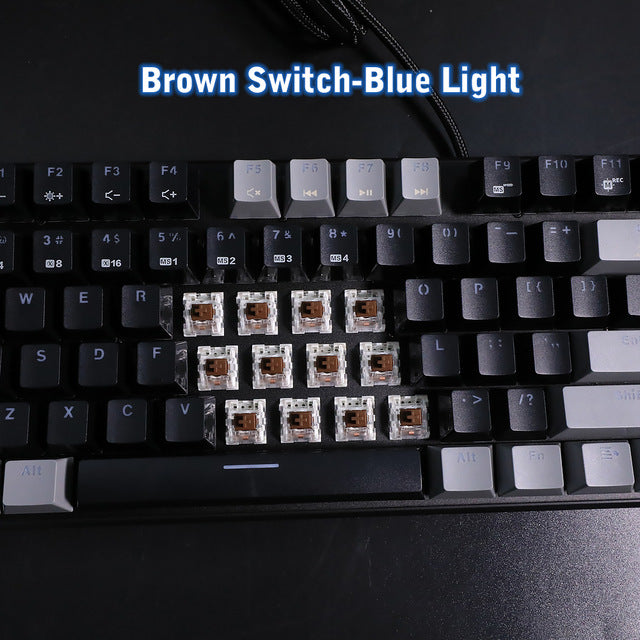 HEXGEARS GK706B Mechanical Gaming Keyboard - Shop For Gamers