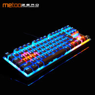 Metoo ZERO 87/104 Keys USB Wired Pro Gaming Mechanical Keyboard - Shop For Gamers