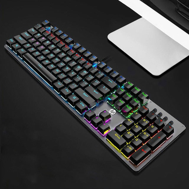 HP GK100 Mechanical Gaming Keyboard - Shop For Gamers