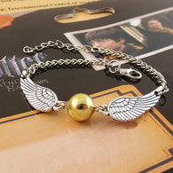 Gold Bracelet Magic Potters Snitch - Shop For Gamers