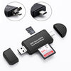 3 In 1 Type C & micro USB & USB OTG Card Reader For Android & IPhones - Shop For Gamers