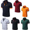 Polo Shirt Mens Casual Deer Embroidery - Shop For Gamers