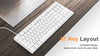 Xiaomi Yuemi 87 Keys Mechanical Keyboard - Shop For Gamers
