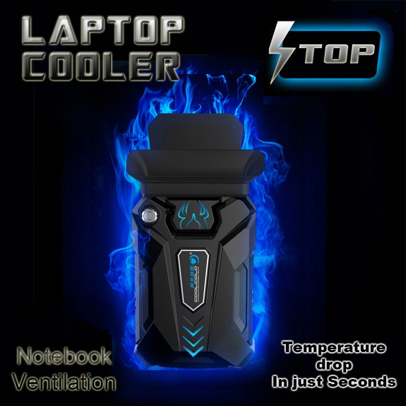 High Performance Suction Type External Laptop Cooler - Shop For Gamers